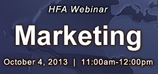 HFA Marketing Webinar